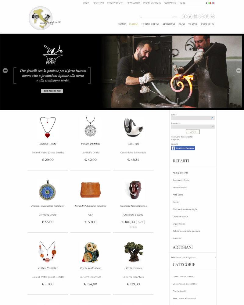 huge discount 38025 dc0b8 Esempi di negozi online